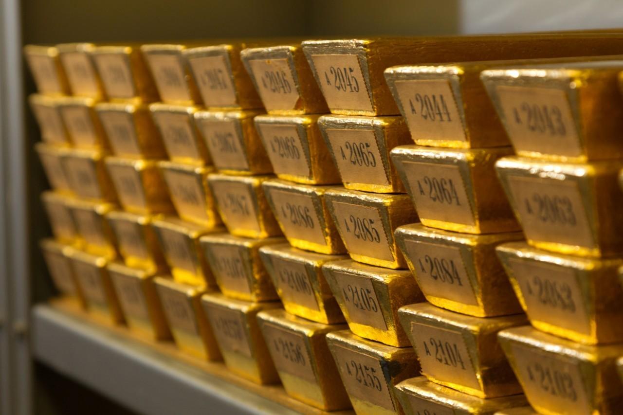 уровень резервных золотовалютных накоплений