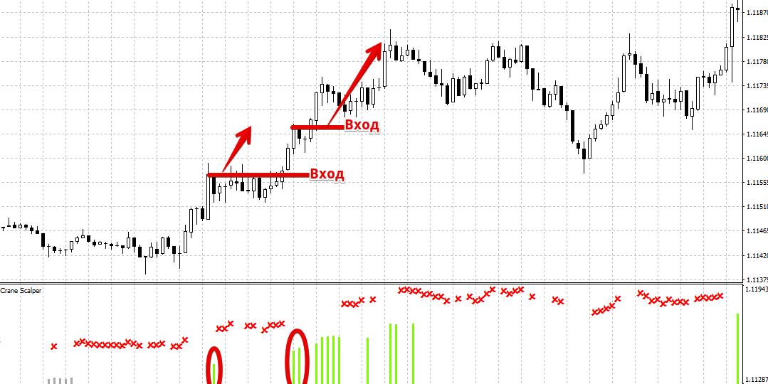 Индикатор Crane Scalper – быстрый путь к прибыли