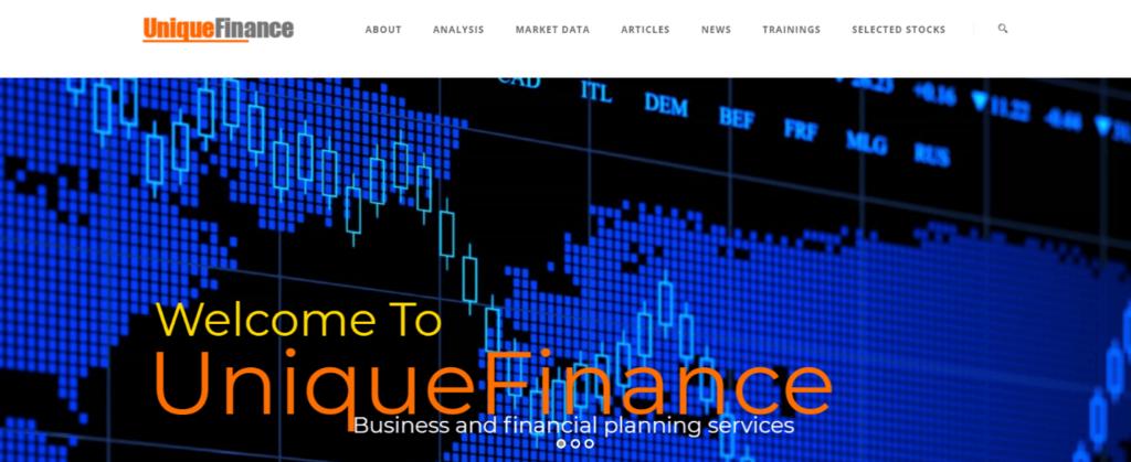 информация о компании Unique Finance