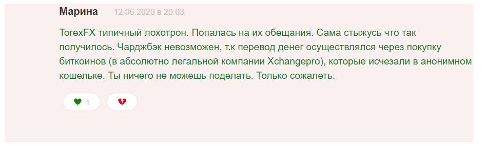Отзывы о TorexFX