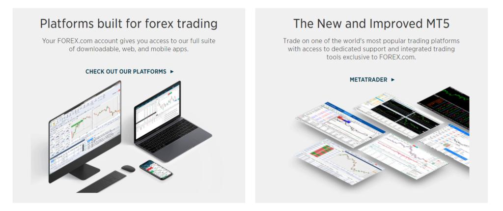 FOREX.com условия для клиентов