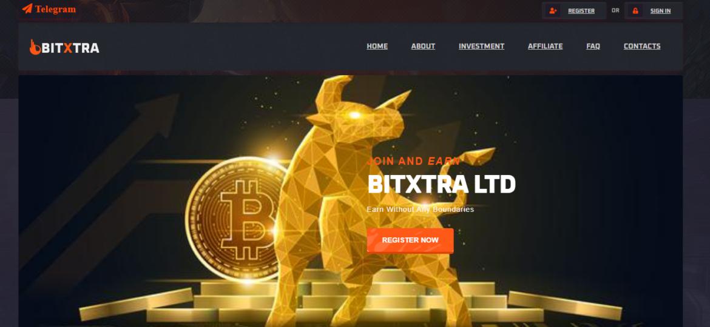 Bitxtra – мошеннический хайп-проект
