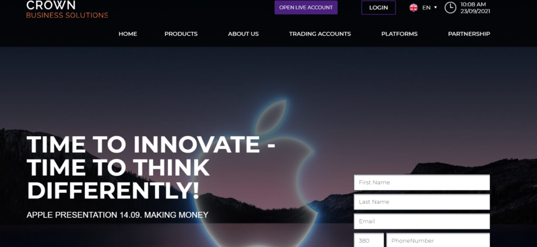 Инновационный подход Crown Business Solutions